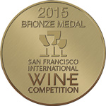 Bronze medal International Wine Competition 2015