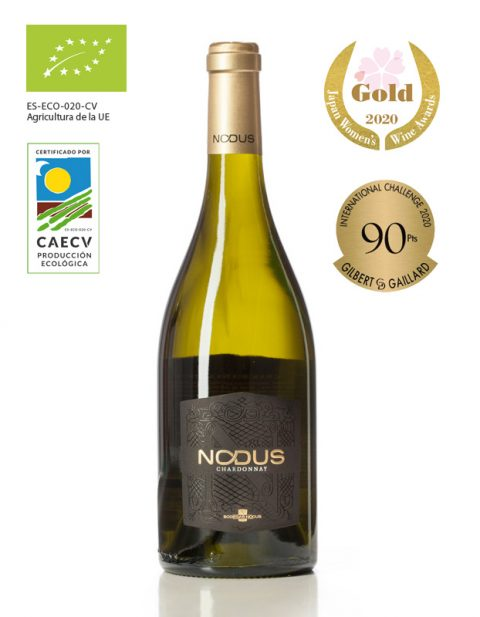 Spanish white wine Nodus Chardonnay